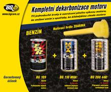 BG 6567 KIT KOMPLETNÍ DEKARBONIZACE – benzín