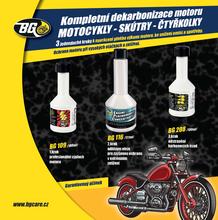 BG 6900 KIT dekarbonizace pro 4-taktní motocykly